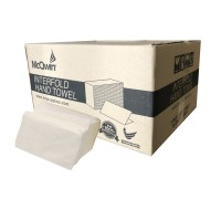 Virgin Pulp Hand Towel Tissue Interfold - 210mm x 200mm x 250 sheets - 16packs (4000 sheets)