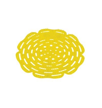 Urinal Pad - Cool Lemon Yellow & Sherwin Red