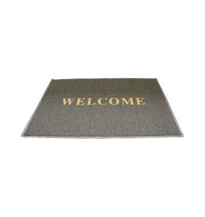 4ft x 6ft - Coil Mat with Welcome