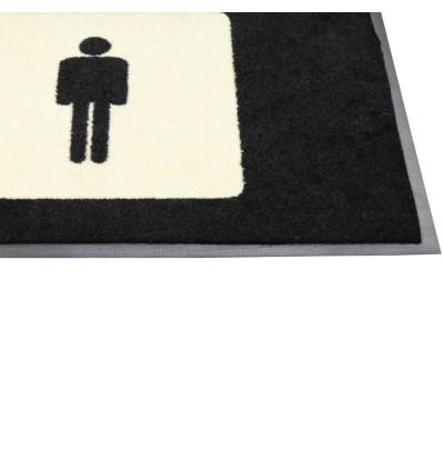 2ft x 3ft - Message Mat Toilet Signage