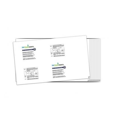 Sticky Glueboard x 6pcs - McQwin Iguana & Waterwheel