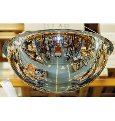 """Crystal Full Dome 36"""" USA Acrylic Safety Mirror"""
