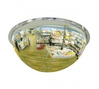 "Crystal Full Dome 36"" USA Acrylic Safety Mirror"