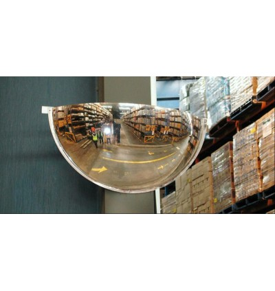 "Crystal Half Dome 36"" USA Acrylic Safety Mirror"