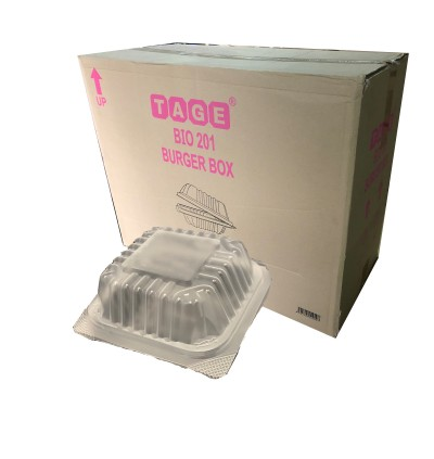 TA-GE TG201 PP Burger Box - 1000PCS