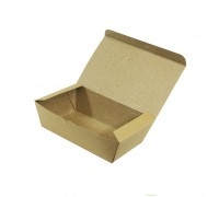 Brown Paper Lunch Box (M) - 600PCS