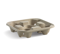 Cup Carrier Tray (4 Cavities) - 150/300PCS
