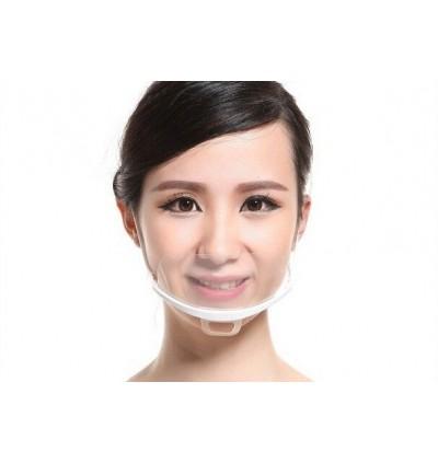 Plastic Face Mask - 10PCS x 20Box