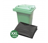 "(XXL) 35"" x 46"" Oxo Biodegradable Black Garbage Bag - 10PCS x 30Rolls"