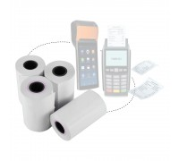 Credit Card Thermal Paper Roll 57mm x 40mm x 15m 48gsm 100rolls/box
