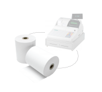 Cash Registry Thermal Paper Roll 57mm x 60mm 48gsm 100rolls/box