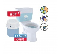 Auto Toilet Flush Disinfectant 100G (Round)