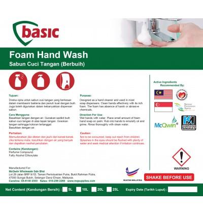 McQwin Basic Foam Hand Wash - 10L