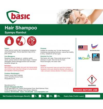 McQwin Basic Hair Shampoo - 10L