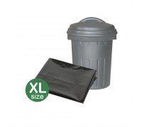 "(XL) Garbage Bag 32"" x 40"" BLACK Heavy Duty A+ (10Pcs)"