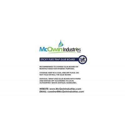 Sticky Glueboard x 12pcs - McQwin Bluestar & Salamander