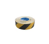 Anti-Slip Tape Hazard Yellow & Black - Outdoor Grade 50mm x 18m