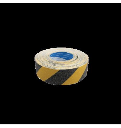 Anti-Slip Tape Hazard Yellow & Black - Outdoor Grade 50mm x 18m