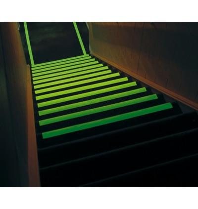 Anti-Slip Tape Luminous 25mm x 18m - Outdoor Grade Glow in the Dark