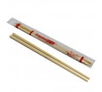CrystalWrap® Bamboo Chopsticks - [40pairs x 60pkts]